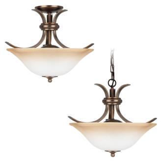 Sea Gull Lighting 75360-829 Two-Light Rialto Close To Ceiling