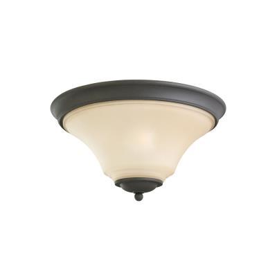 Sea Gull Lighting 75375-839 Two Light Flush Mount
