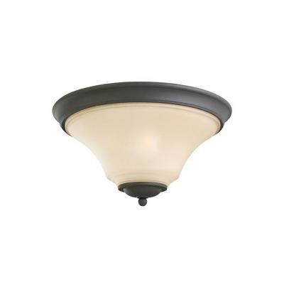 Sea Gull Lighting 75375BLE-839 Somerton - Two Light Flush Mount