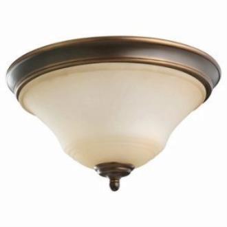 Sea Gull Lighting 75381-829 Two Light Flush Mount