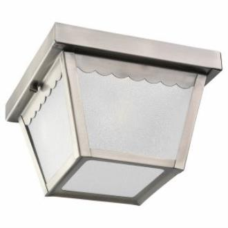 Sea Gull Lighting 75467-965 One Light Outdoor Flush Mount