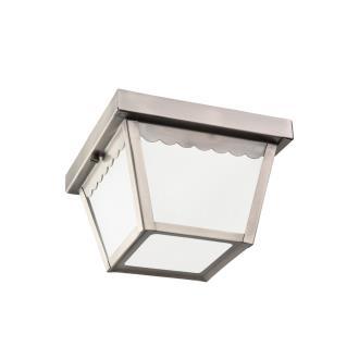 Sea Gull Lighting 75467-965 One Light Outdoor Flush Mount