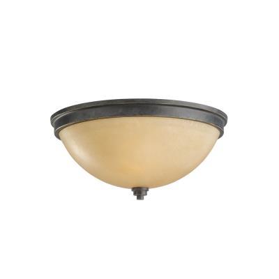 Sea Gull Lighting 75520-845 Two Light Ceiling Flush Mount