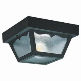 Sea Gull Lighting 7567-32 One Light Outdoor Flush Mount