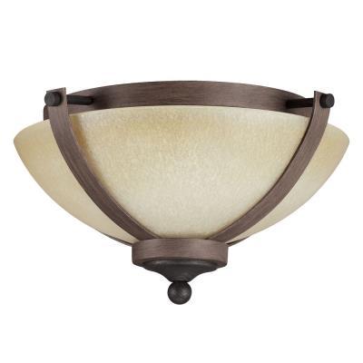 Sea Gull Lighting 7580402BLE-846 Corbeille - Two Light Flush Mount