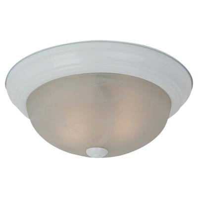 Sea Gull Lighting 75942BLE-15 Two Light Flush Mount