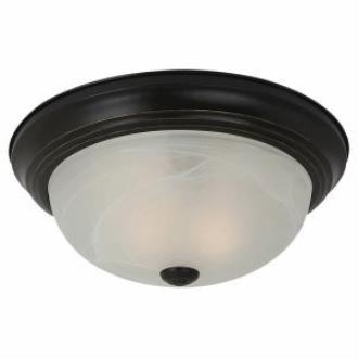 Sea Gull Lighting 75943-782 Three Light Flush Mount