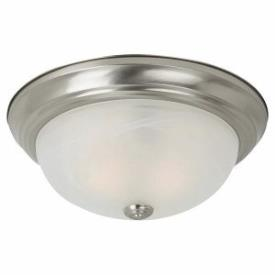 Sea Gull Lighting 75943BLE-962 Three Light Flush Mount