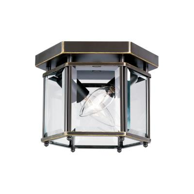 Sea Gull Lighting 7647-782 Two Light Bound Glass Ceiling Light