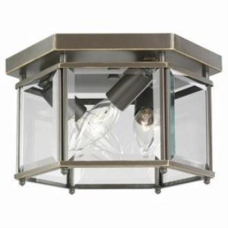 Sea Gull Lighting 7648-782 Three Light Bound Glass Ceiling Light
