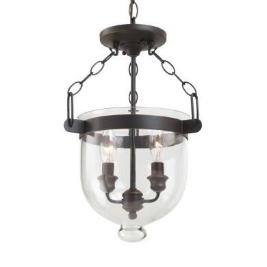 Sea Gull Lighting 77046-715 Westminster - Two Light Convertible Semi-Flush Mount