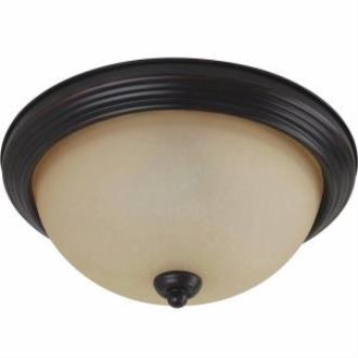 Sea Gull Lighting 77063-710 One Light Flush Mount