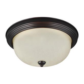 Sea Gull Lighting 77063-710 One Light Flush Mount
