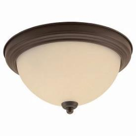 Sea Gull Lighting 77063-72 Single-Light Olde Iron Ceiling Light