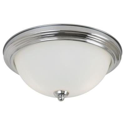 Sea Gull Lighting 77064- Two Light Flush Mount
