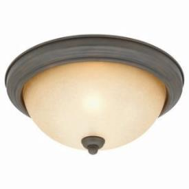 Sea Gull Lighting 77064-72 Two-Light Olde Iron Ceiling Light