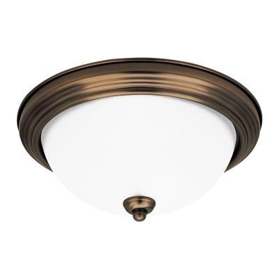 Sea Gull Lighting 77064-829 Two-Light Rialto Close to Ceiling
