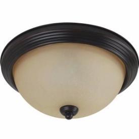 Sea Gull Lighting 77065-710 Three Light Flush Mount