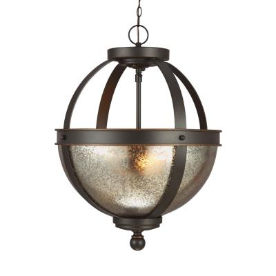 Sea Gull Lighting 7710402-715 Sfera - Two Light Convertible Pendant