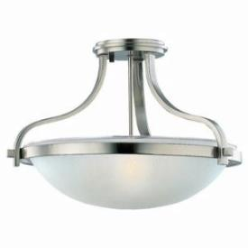 Sea Gull Lighting 77115-962 Three-Light Eternity Ceiling Fixture