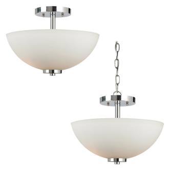 Sea Gull Lighting 77160-05 Oslo - Two Light Semi-Flush Mount