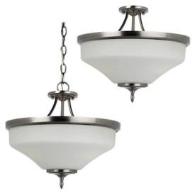 Sea Gull Lighting 77180-965 Montreal - Three Light Convertible Semi-Flush Mount