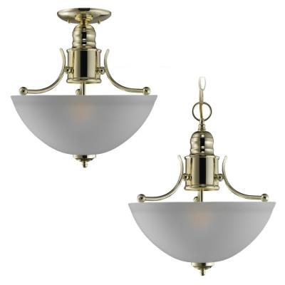 Sea Gull Lighting 77225-02 Single-Light Evansville Ceiling