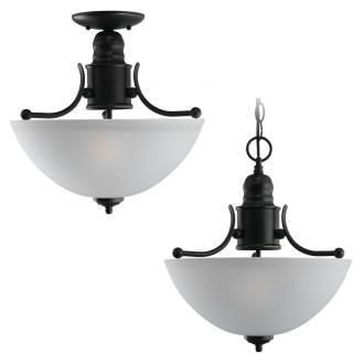 Sea Gull Lighting 77225-782 Two-Light Evansville Ceiling