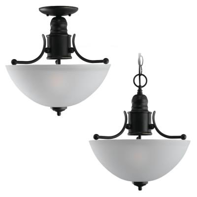 Sea Gull Lighting 77225-782 Two-Light Evansville Ceiling