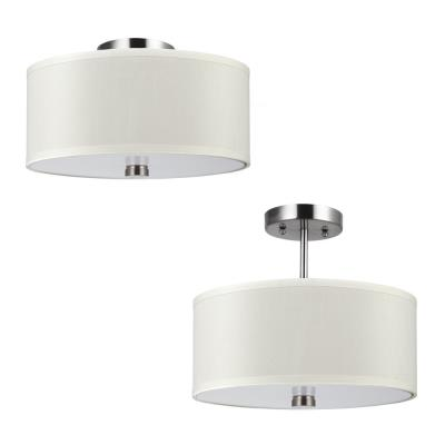 Sea Gull Lighting 77262-962 Dayna - Two Light Convertible Semi-Flush Mount
