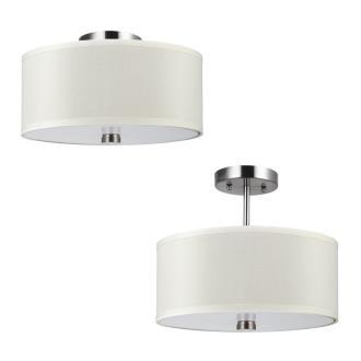 Sea Gull Lighting 77262BLE-962 Dayna - Two Light Convertible Semi-Flush Mount