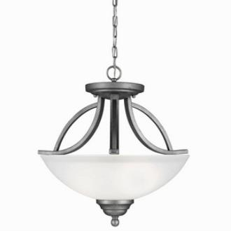 Sea Gull Lighting 7731402-57 Vitelli - Two Light Convertible Pendant