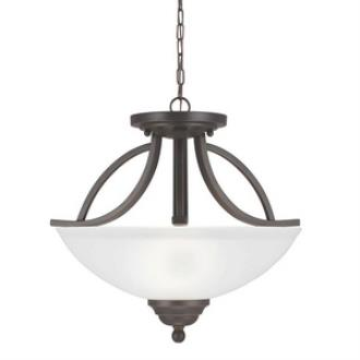 Sea Gull Lighting 7731402-715 Vitelli - Two Light Convertible Pendant