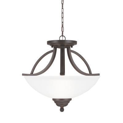 Sea Gull Lighting 7731402-715 Vitelli - Two Light Convertible Pendant
