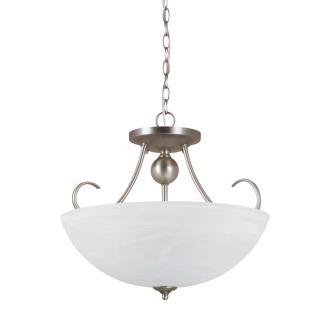 Sea Gull Lighting 77316-965 Lemont - Three Light Convertible Semi-Flush Mount