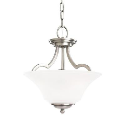 Sea Gull Lighting 77375BLE-965 Somerton - Two Light Convertible Semi-Flush Mount