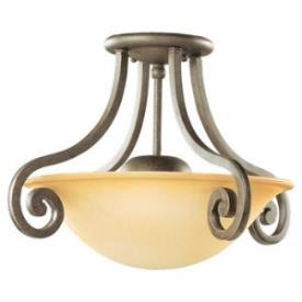 Sea Gull Lighting 77430-71 Two-Light Brandywine Ceiling Fixture