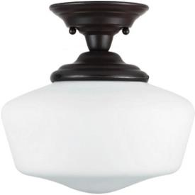 Sea Gull Lighting 77436-782 Academy - One Light Semi-Flush Mount