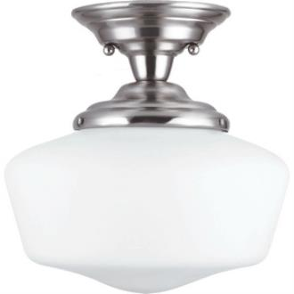 Sea Gull Lighting 77436BLE-962 Academy - One Light Semi-Flush Mount