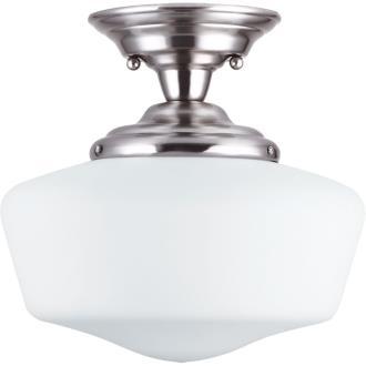 Sea Gull Lighting 77437BLE-962 Academy - One Light Semi-Flush Mount