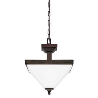 Sea Gull Lighting 7750402-710 Denhelm - Two Light Convertible Pendant
