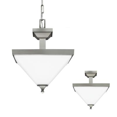 Sea Gull Lighting 7750402-962 Denhelm - Two Light Convertible Pendant