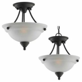 Sea Gull Lighting 77575-782 Albany - Two Light Flush Mount