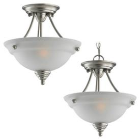 Sea Gull Lighting 77575-962 Albany - Two Light Flush Mount