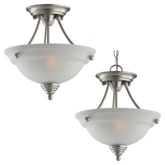 Sea Gull Lighting 77575-962 Albany - Two Light Flush Mount