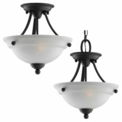 Sea Gull Lighting 77625-782 Wheaton - Two Light Flush Mount