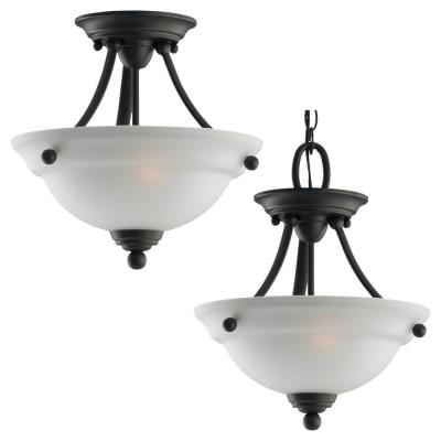 Sea Gull Lighting 77625-782 Wheaton - Two Light Flush Mount