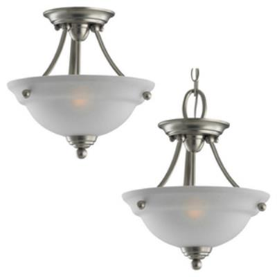 Sea Gull Lighting 77625-962 Wheaton - Two Light Flush Mount