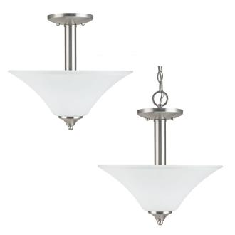Sea Gull Lighting 77806-962 Holman - Two Light Semi-Flush Mount