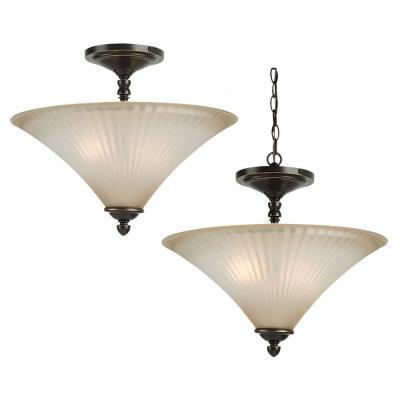 Sea Gull Lighting 77935 Joliet - Two Light Semi-Flush Mount